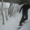 Snowboarding Duluth Backcountry